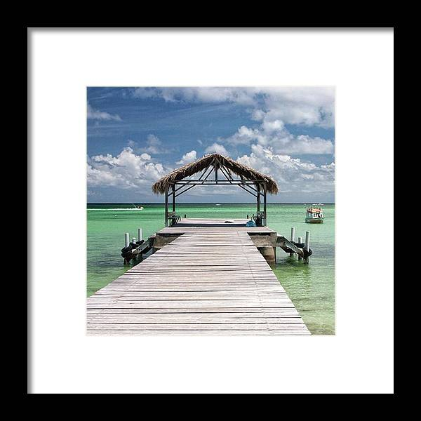 Beautiful Framed Print featuring the photograph Pigeon Point, Tobago#pigeonpoint by John Edwards