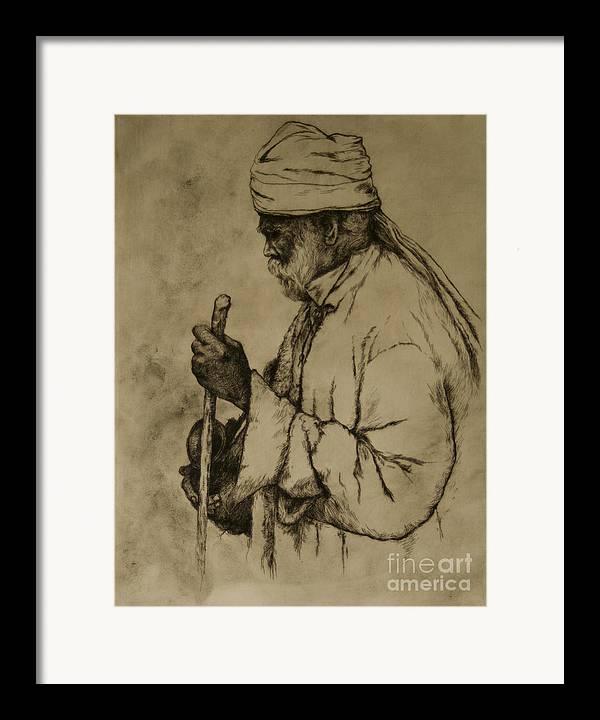 Goa Framed Print featuring the print Pilgrim by Tim Thorpe