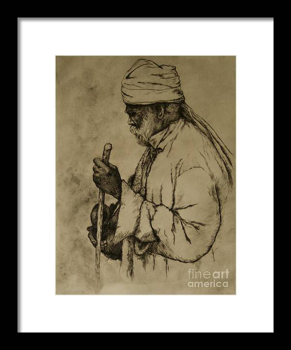 Goa Framed Print featuring the print Pilgrim by Tim Thorpe