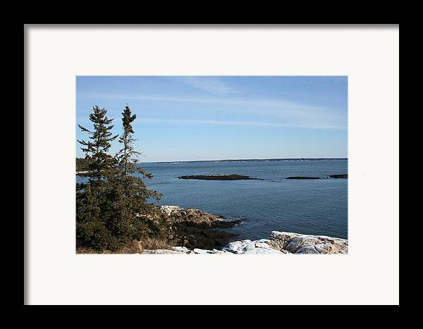 Landscape Framed Print featuring the photograph Pine Coast by Doug Mills