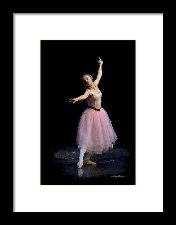 Dance Framed Print featuring the photograph Pink Ballet by Harry Moulton