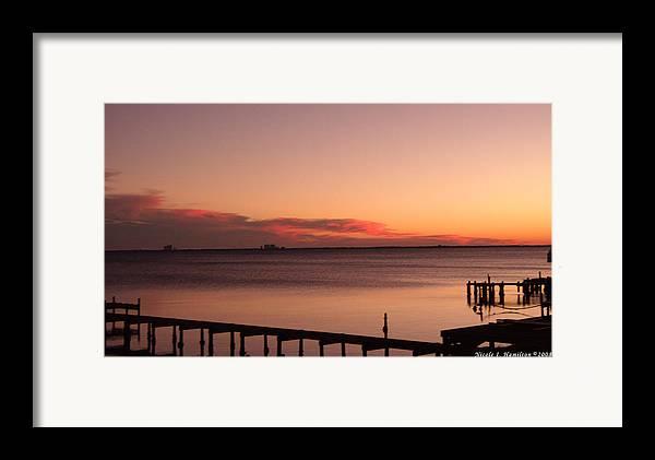 Sky Framed Print featuring the photograph Pink Skyline by Nicole I Hamilton