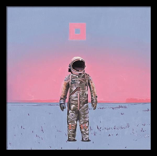 Pink Square by Scott Listfield
