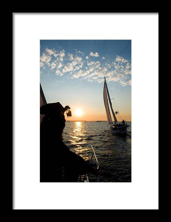 Seattle Framed Print featuring the photograph Pirates Toast by Tom Dowd