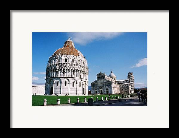 Italy Framed Print featuring the photograph Pisa by Kathy Schumann