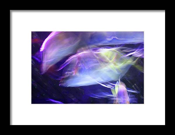Abstract Framed Print featuring the photograph Pisces by Steve Karol