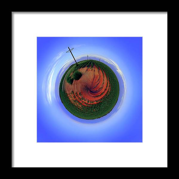 West Texas Framed Print featuring the photograph Planet West Texas by Robert Hudnall