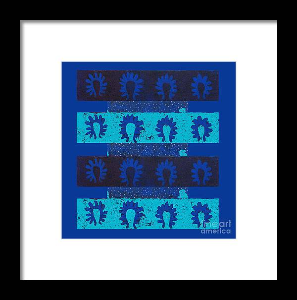 Plankton Framed Print featuring the digital art Plankton by Aliza Souleyeva-Alexander