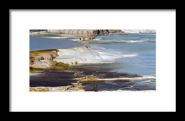 Chad Davis Framed Print featuring the photograph Plateau Of Colors by Chad Davis