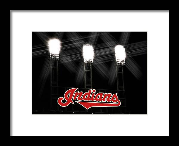 Cleveland Framed Print featuring the photograph Play Ball by Kenneth Krolikowski