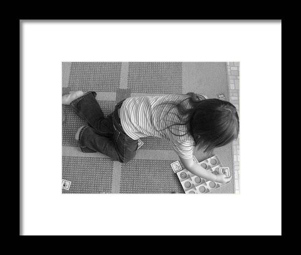 Digital Framed Print featuring the photograph Playtime by Melissa Parks