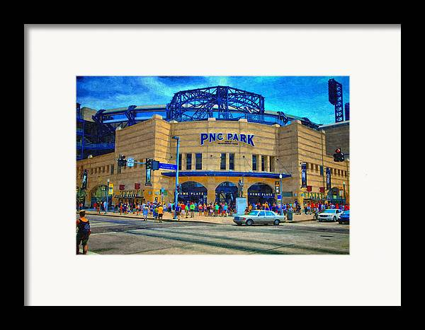 Framed Print featuring the photograph Pnc Park by Matt Matthews