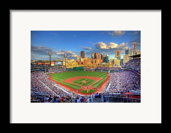Pnc Park Framed Print featuring the photograph Pnc Park by Shawn Everhart