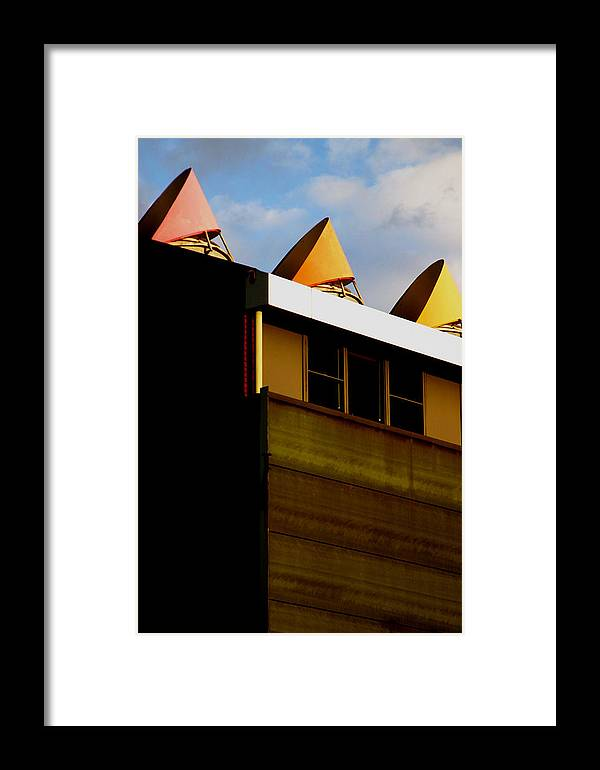 Jez C Self Framed Print featuring the photograph Pointing Out by Jez C Self
