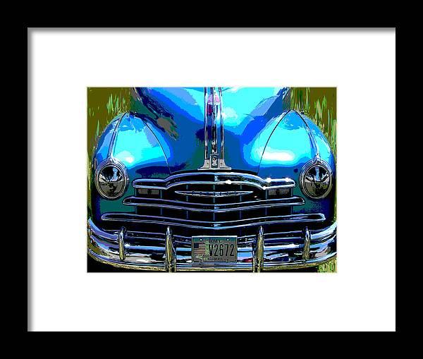 Car Framed Print featuring the photograph Pontiac by Audrey Venute