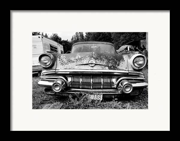 Car Framed Print featuring the photograph Pontiac Smile 2 by Jennifer Owen