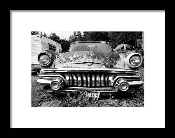 Car Framed Print featuring the photograph Pontiac Smile 2 by Jennifer Owen