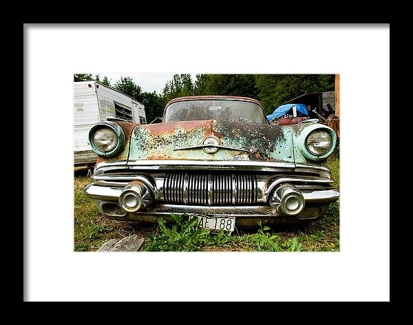 Pontiac Framed Print featuring the photograph Pontiac Smile by Jennifer Owen