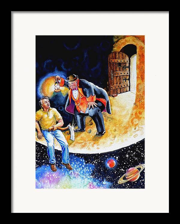 Pooka Hill Framed Print featuring the painting Pooka Hill 7 by Hanne Lore Koehler