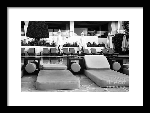 Pool Life Framed Print featuring the photograph Pool Life by John Rizzuto