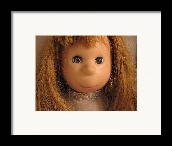 Doll Framed Print featuring the photograph Poor Pitiful Pearl by Susie DeZarn