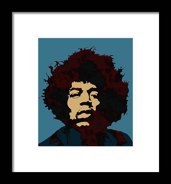 Jimi Hendrix Wall Art - Jimi Hendrix Pop Art Jimi Hendrix Pop Art