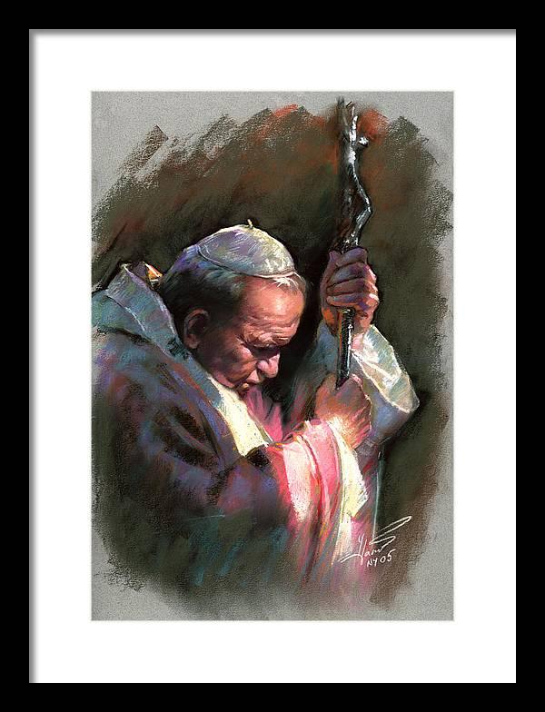 Pope John Paul II by Ylli Haruni