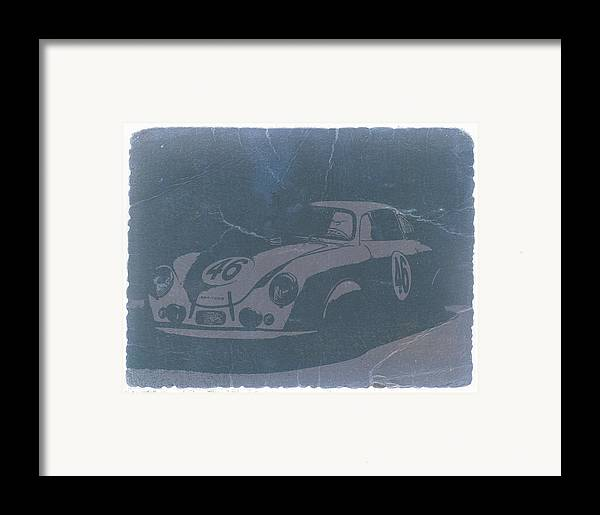 Porsche 356 Coupe Front Framed Print featuring the photograph Porsche 356 Coupe Front by Naxart Studio