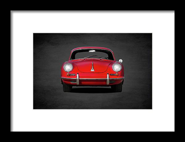 Porsche Framed Print featuring the photograph The Classic 356 by Mark Rogan