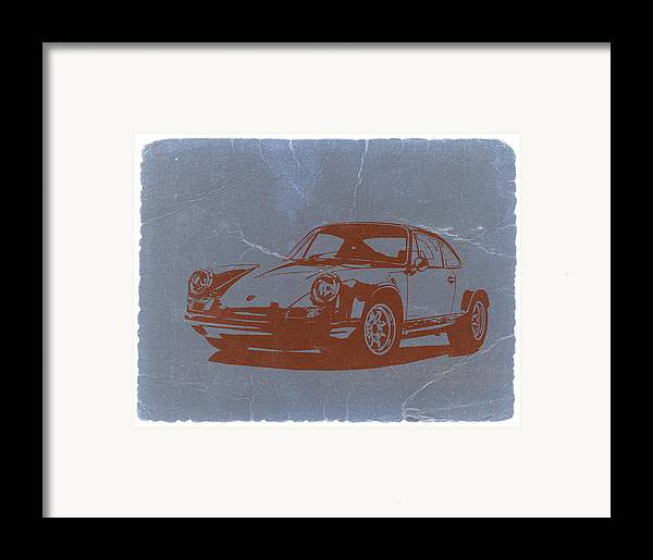 Porsche 911 Framed Print featuring the photograph Porsche 911 by Naxart Studio