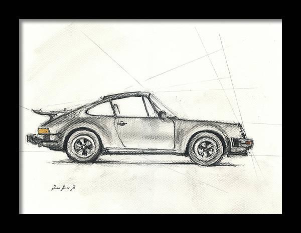 Porsche 930 turbo by Juan Bosco