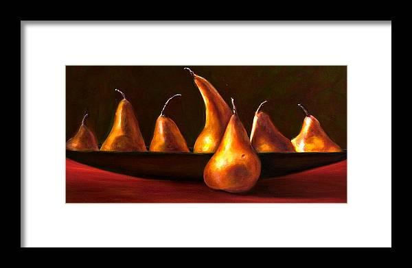 Still Life Framed Print featuring the painting Port Au Pear by Shannon Grissom