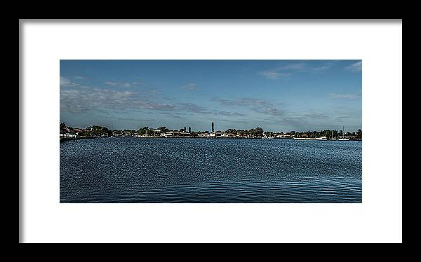 Florida Framed Print featuring the photograph Port Charlotte Beeney Water Way From Beeney by Don Kerr