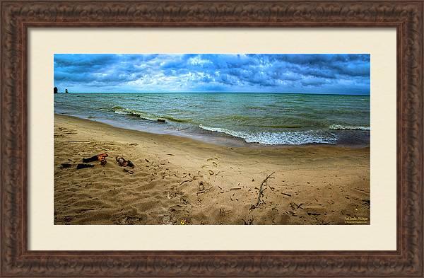 Port Sanilac Scenic Turnout Fall by LeeAnn McLaneGoetz McLaneGoetzStudioLLCcom