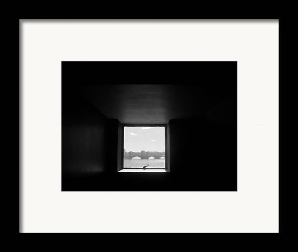 Bridge Framed Print featuring the photograph Portal 3 by Nancy Ferrier