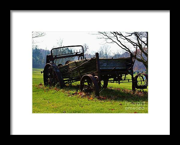 Portland Framed Print featuring the photograph Portland Ct by Virginia Levasseur