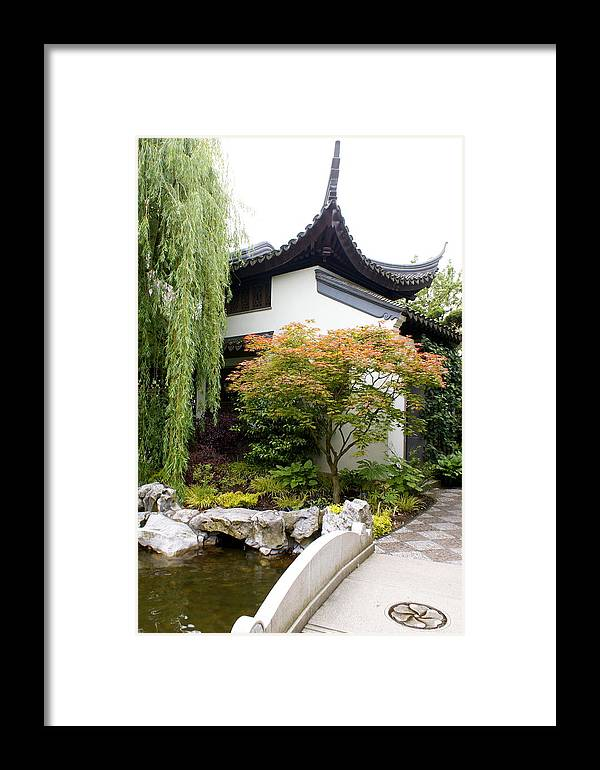 Garden Framed Print featuring the photograph Portland by Sonja Anderson