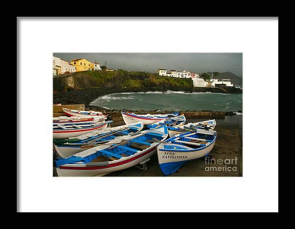 Coastal Framed Print featuring the photograph Porto Dos Carneiros by Gaspar Avila