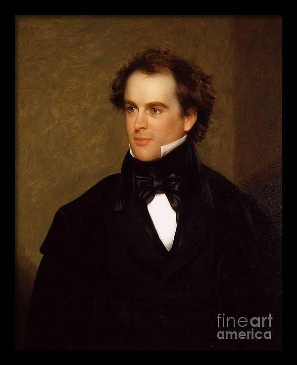 Portrait of Nathaniel Hawthorne by MotionAge Designs