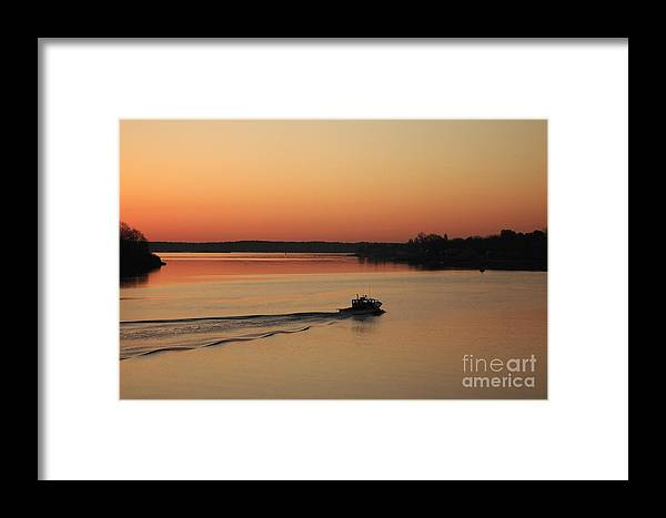 Harbor Framed Print featuring the photograph Portsmouth Harbor - Portsmouth New Hamphire Usa by Erin Paul Donovan