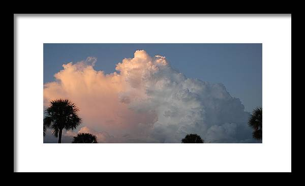 Clouds Framed Print featuring the photograph Post Card Clouds by Rob Hans