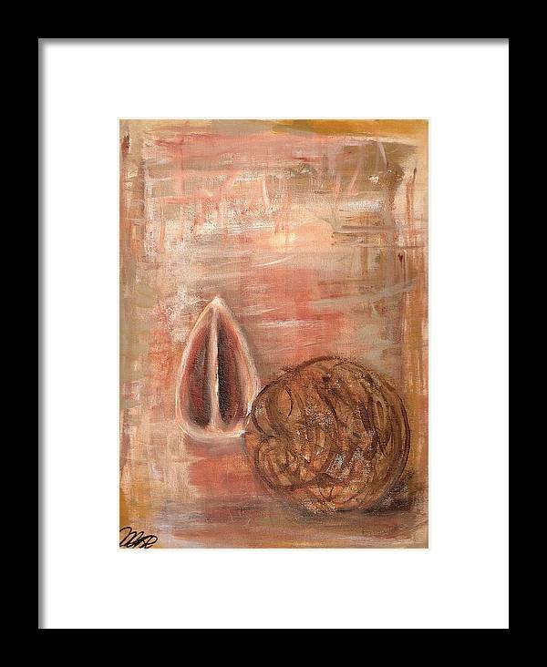 Still Life Framed Print featuring the painting Potpourri Two by Vi Mosley