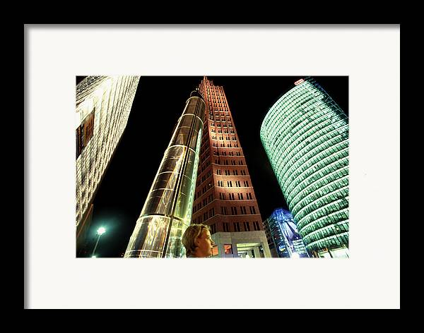 Berlin Framed Print featuring the photograph Potsdamer Platz Berlin by Brad Rickerby