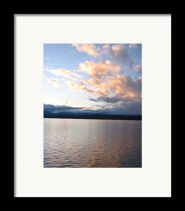 Sunset Framed Print featuring the photograph Poulsbo Sunset by Ty Nichols