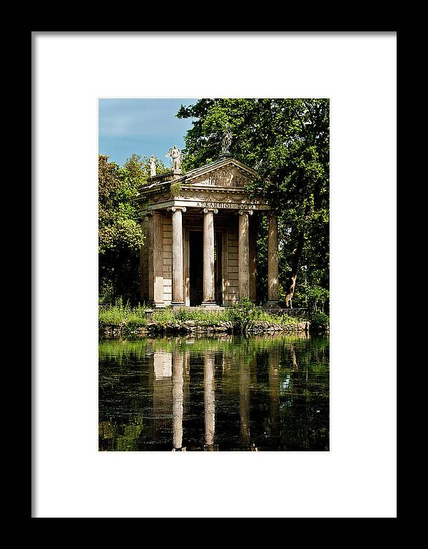 Rome Framed Print featuring the photograph Pound Rome Italy by Xavier Cardell