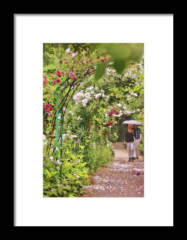 Floral Framed Print featuring the photograph Pouring Petals by Jamart Photography