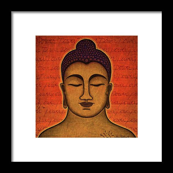 Buddha Framed Print featuring the painting Power by Gloria Rothrock