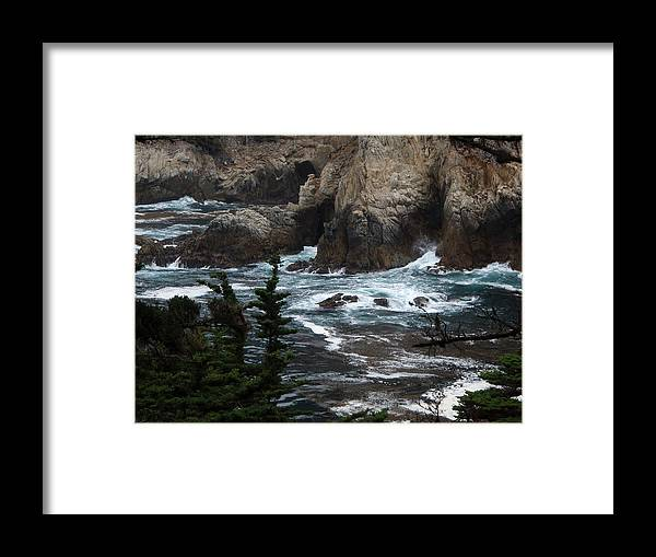 Landscape Framed Print featuring the photograph pr 118 - The Claw the print by Chris Berry