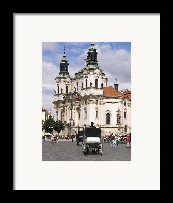 Prague Framed Print featuring the photograph Prague by Charles Ridgway