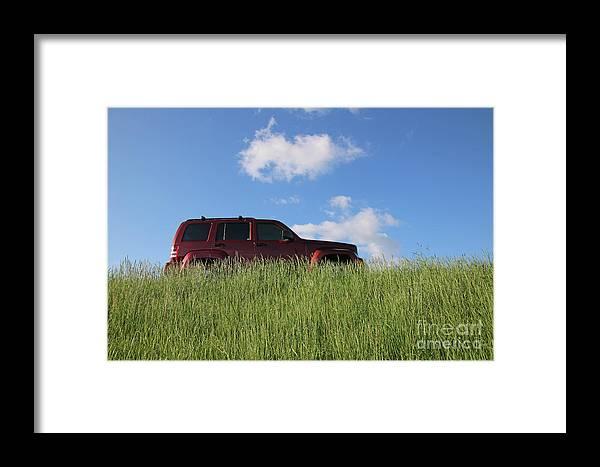 Truck Framed Print featuring the photograph Prairie Schooner by Steve Gass